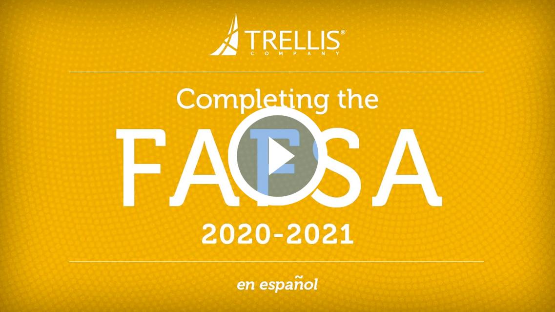 Completando la FAFSA 2020-2021
